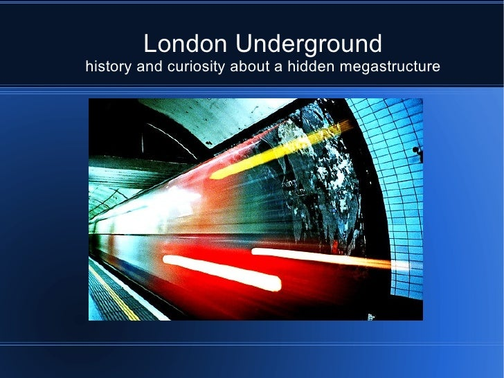 Secrets History of Underground London
