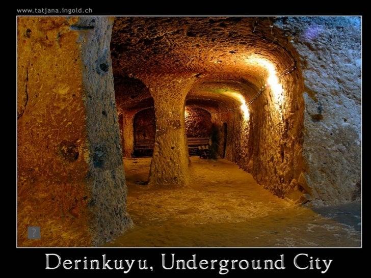 Undergroundcityof derinkuyu