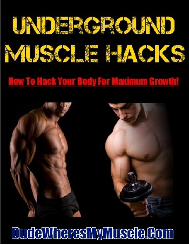 Table Of ContentsMuscle Building Hack #1: The Magic Bicep Exercise – One Rep, One Set!Muscle Building Hack #2: Stop Playin...