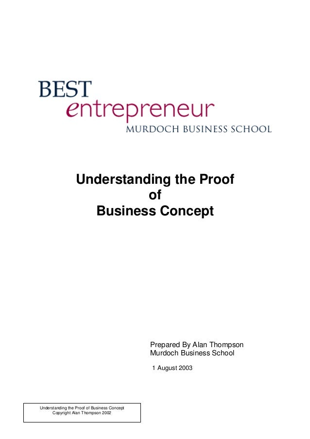 Understand a proof_of_business