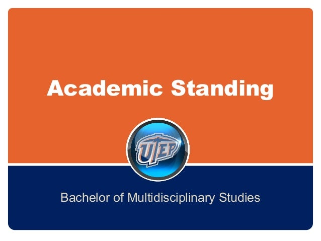 BMS and Academic Standing