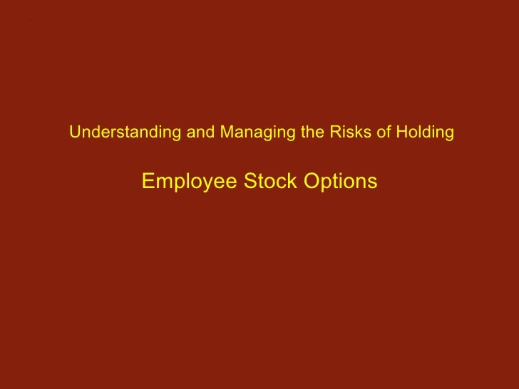 Understanding employee stock options