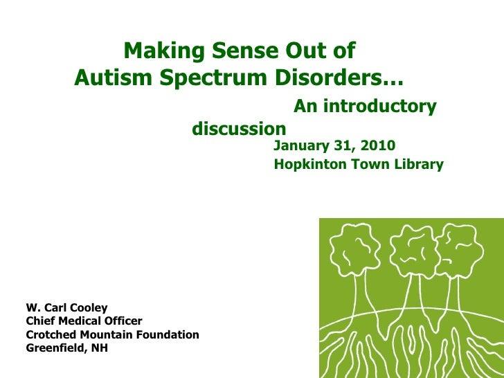Understanding Autism2010
