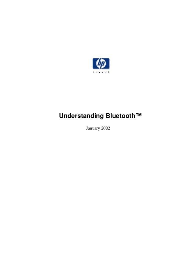 Understanding Bluetooth™January 2002