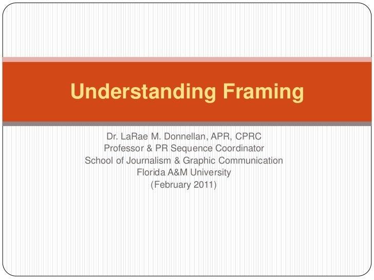 Understanding Framing