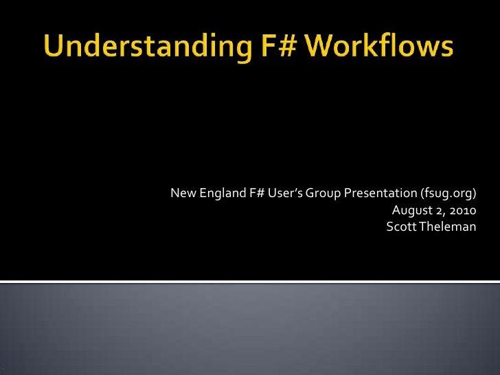 Understanding F# Workflows