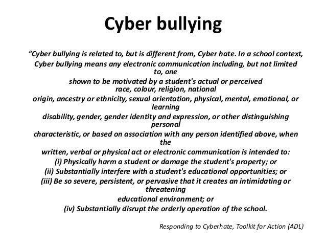 "anti bullying speech example Use stories, quotes and examples to bring the facts to life (caution students against sharing their own stories or those of other students at the school) stories can be found at personal bullying stories scroll down to read ""a fine line between autism and bullying,"" ""the skinny girl"" and ""daydreams and nightmares"" (this last one is under older."