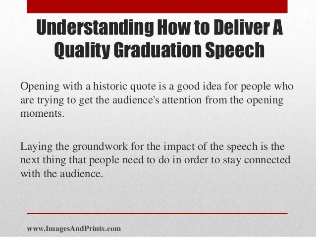 guest speaker graduation speech | just b.CAUSE