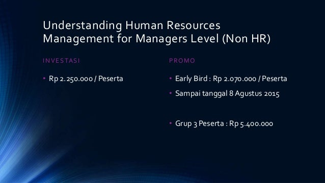 understanding human resources Read the latest articles of human resource management review at  mentoring  in family businesses: toward an understanding of commitment outcomes.