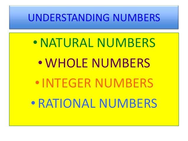 Understanding Integers