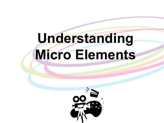 Understanding micro elements power point example