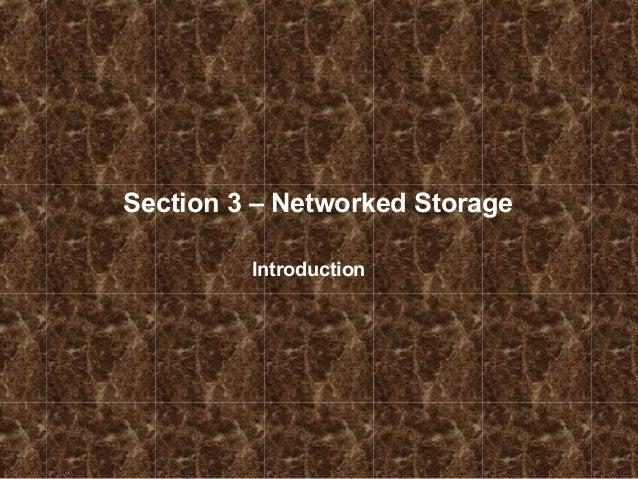 Understanding nas (network attached storage)