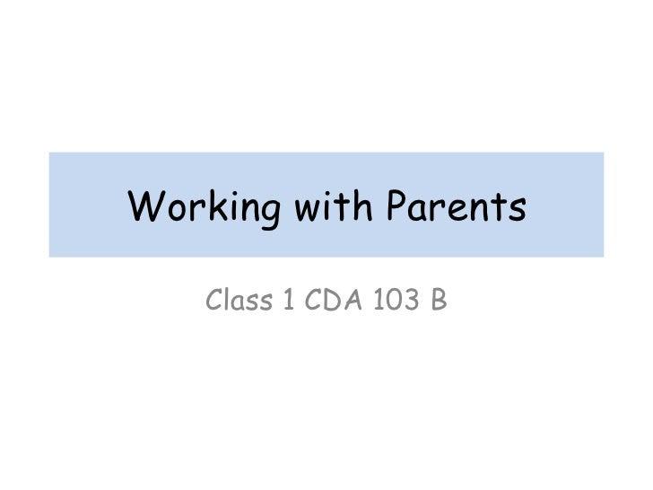 My first Newsletter - CDA Class 2012