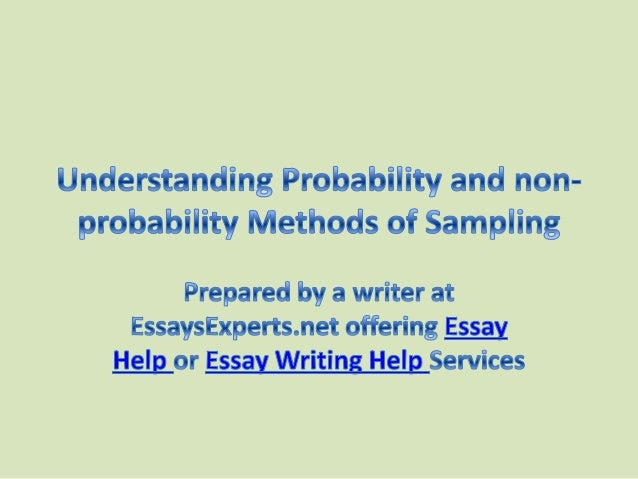 probability of succers essay