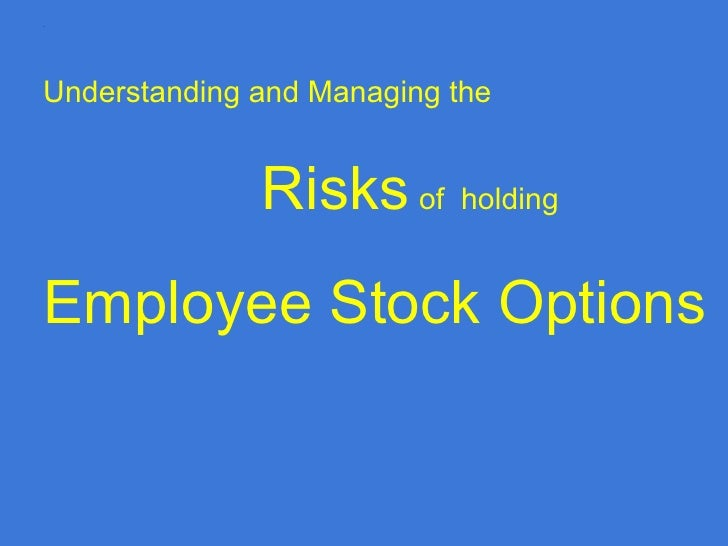 Employee stock purchase options