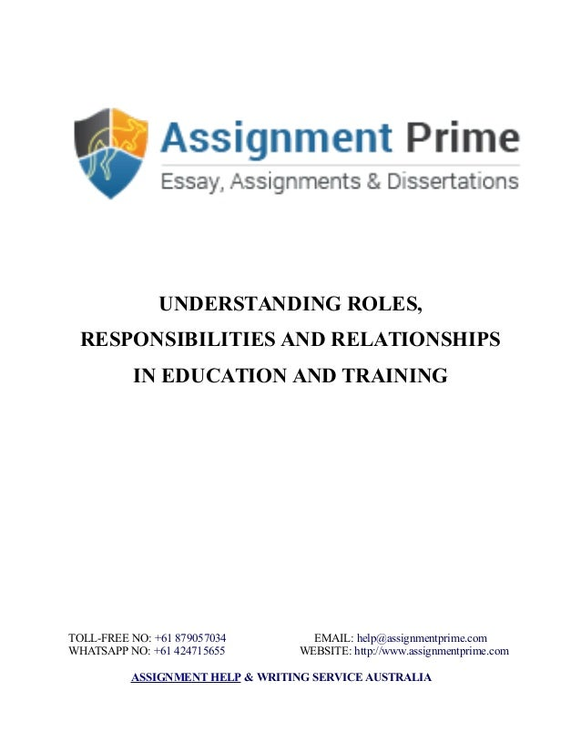 understanding my own role responsibilities and 11 summarise key aspects of legislation, regulatory requirements and codes of practice relating to own role and responsibilities teachers always have to protect themselves and the best way to do it is to follow the rules of the code of practice being a teacher makes me automatically an example .