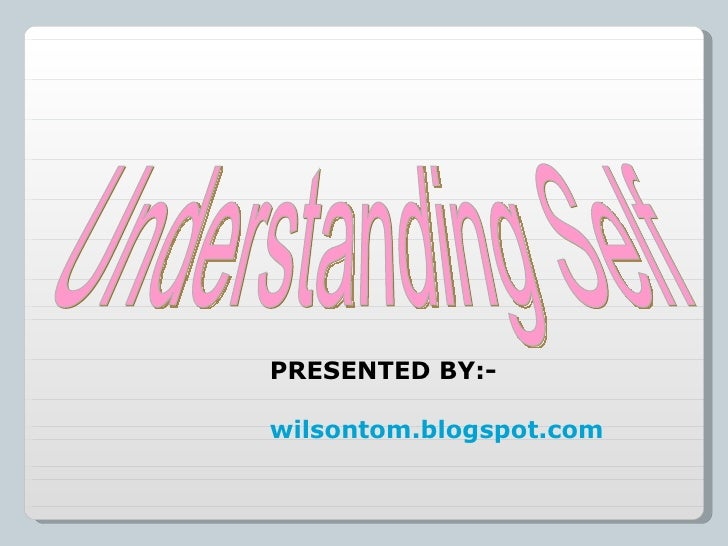 self presentation in understanding the self A notable contribution to our understanding of ourselves,  the presentation of self in everyday life volume 174 of anchor books anchor books sociology.