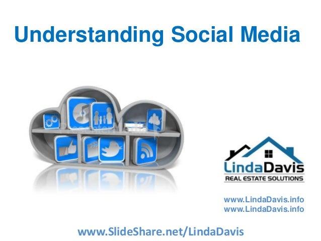 www.LindaDavis.info www.LindaDavis.info Understanding Social Media www.SlideShare.net/LindaDavis