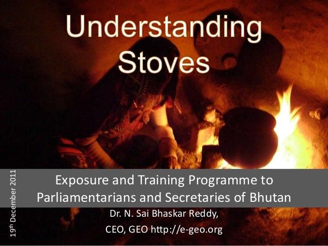 Understanding stoves ppt