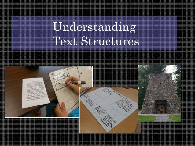 Understanding Text Structures