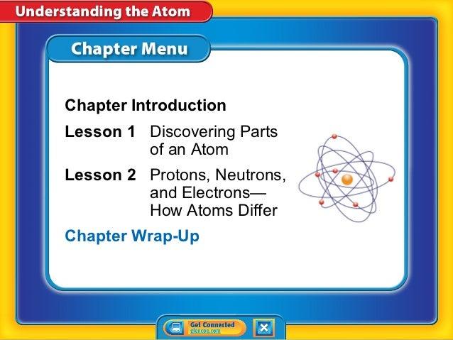 Understanding the atom