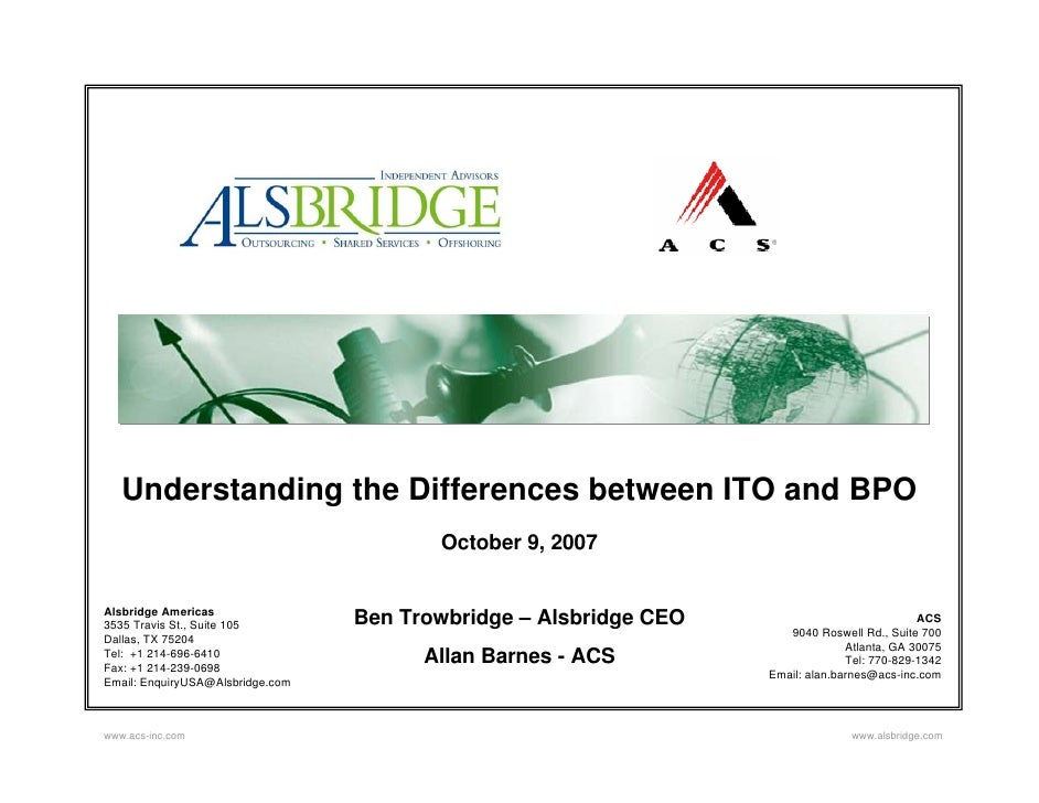 Understanding The Difference Between Ito And Bpo