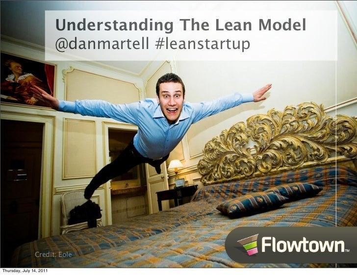 Understanding the lean model - Dan Martell