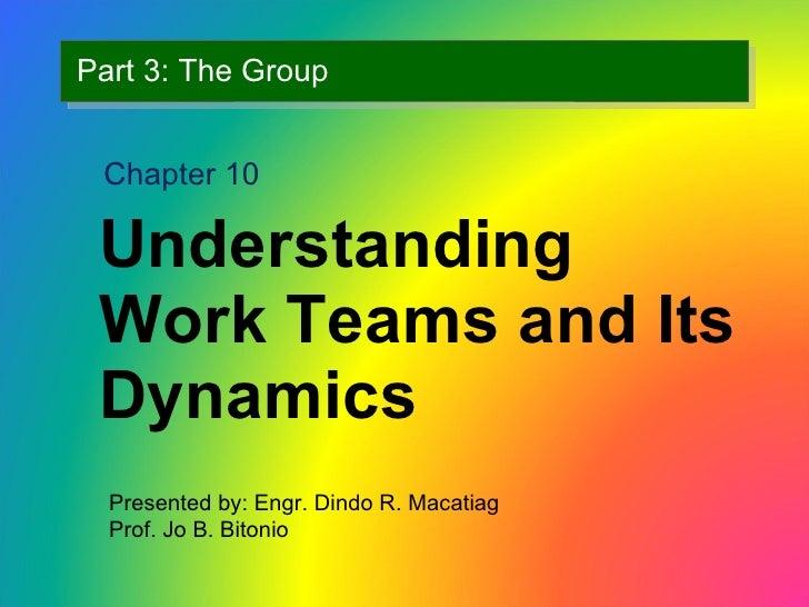Understanding Work Teams rev1