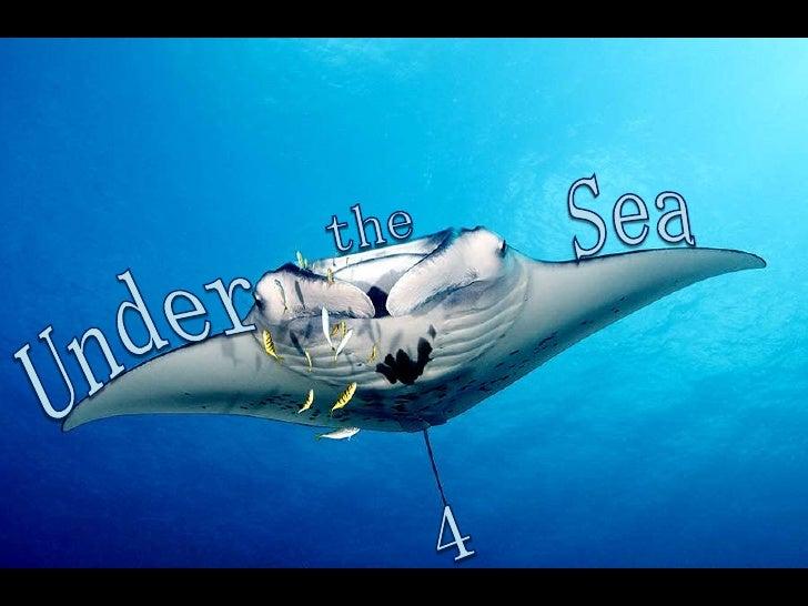 Sea<br />the<br />Under<br />4<br />