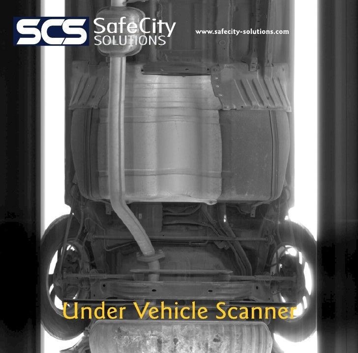 Under vehicle scanner
