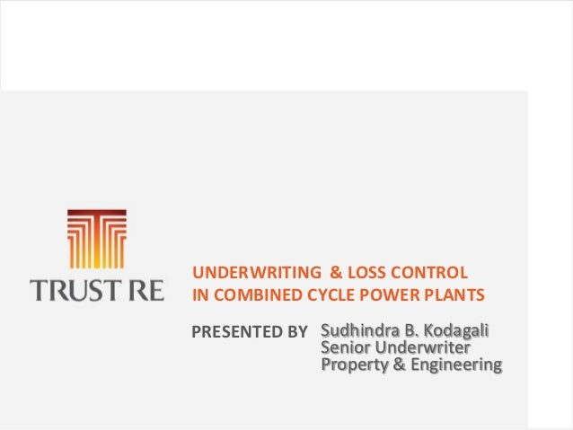 Underwriting  & loss control