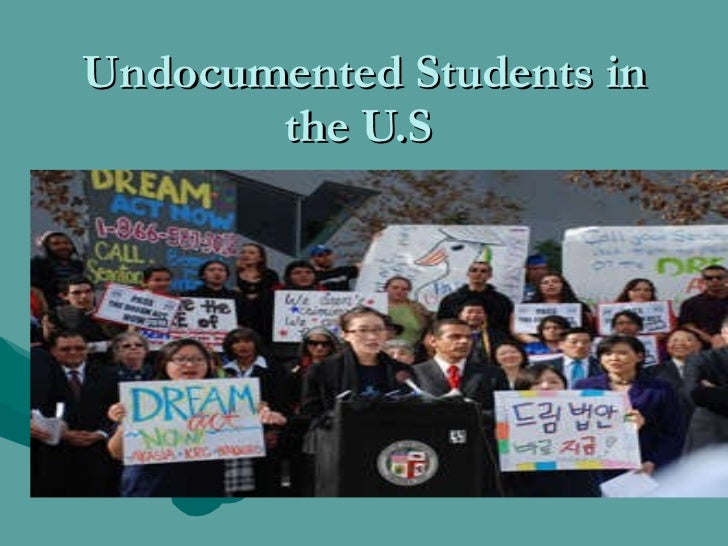 Undocumented students in the us