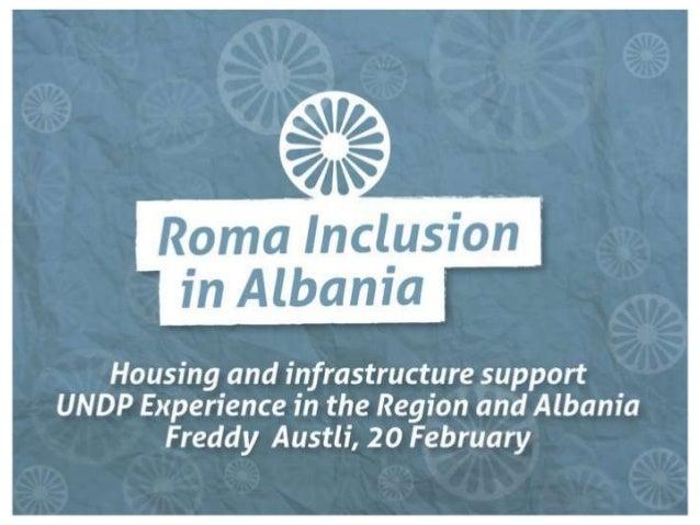 Roma inclusion in Albania