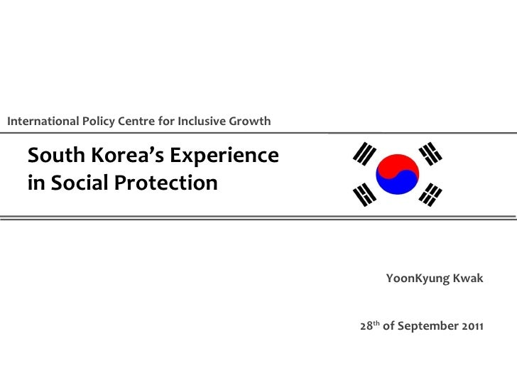 South Korea's Experience in Social Protection