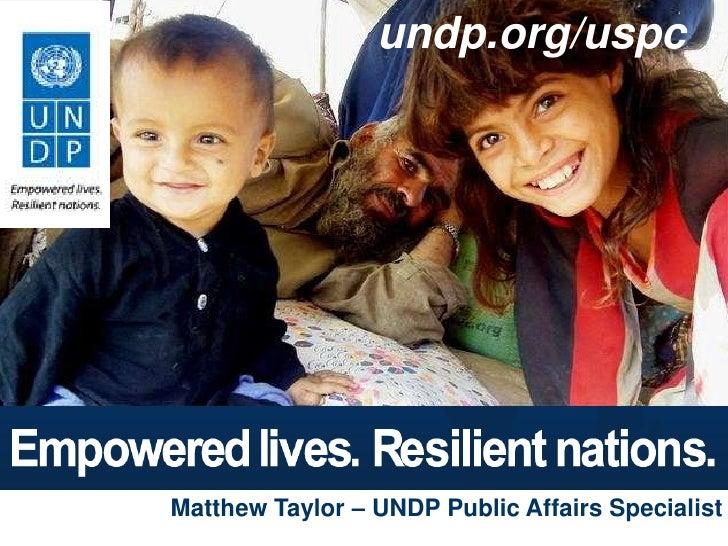 UNDP Seoul Policy Centre
