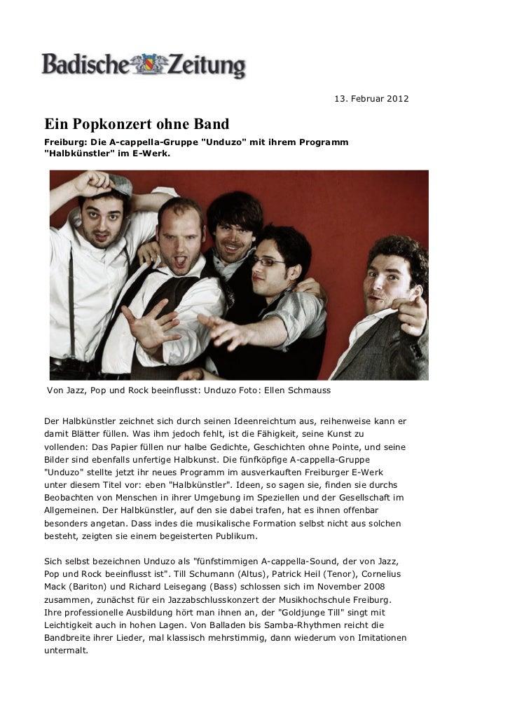 Rock & Pop: Ein Popkonzert ohne Band - badische-zeitung.de    http://www.badische-zeitung.de/nachrichten/kultur/ein-popko....