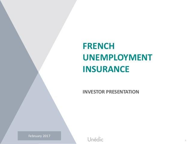 1UNEDIC – Investor Presentation – September 2015