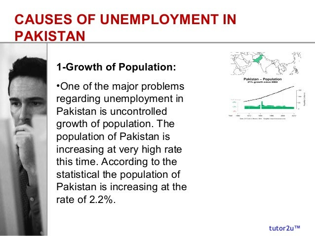 reasons for unemployment in pakistan Who is responsible for unemployment in pakistan main problem of pakistan now a days so what are the reasons behind unemployment pakistan is an.