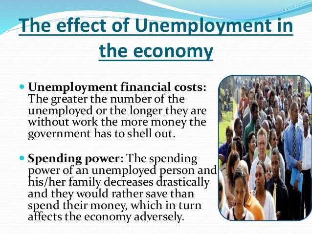 unemployment a tremendous phenomenon in economics Explain how unemployment and inflation impact the aggregate demand/aggregate supply model  both economic growth and inflation are dynamic phenomena suppose.