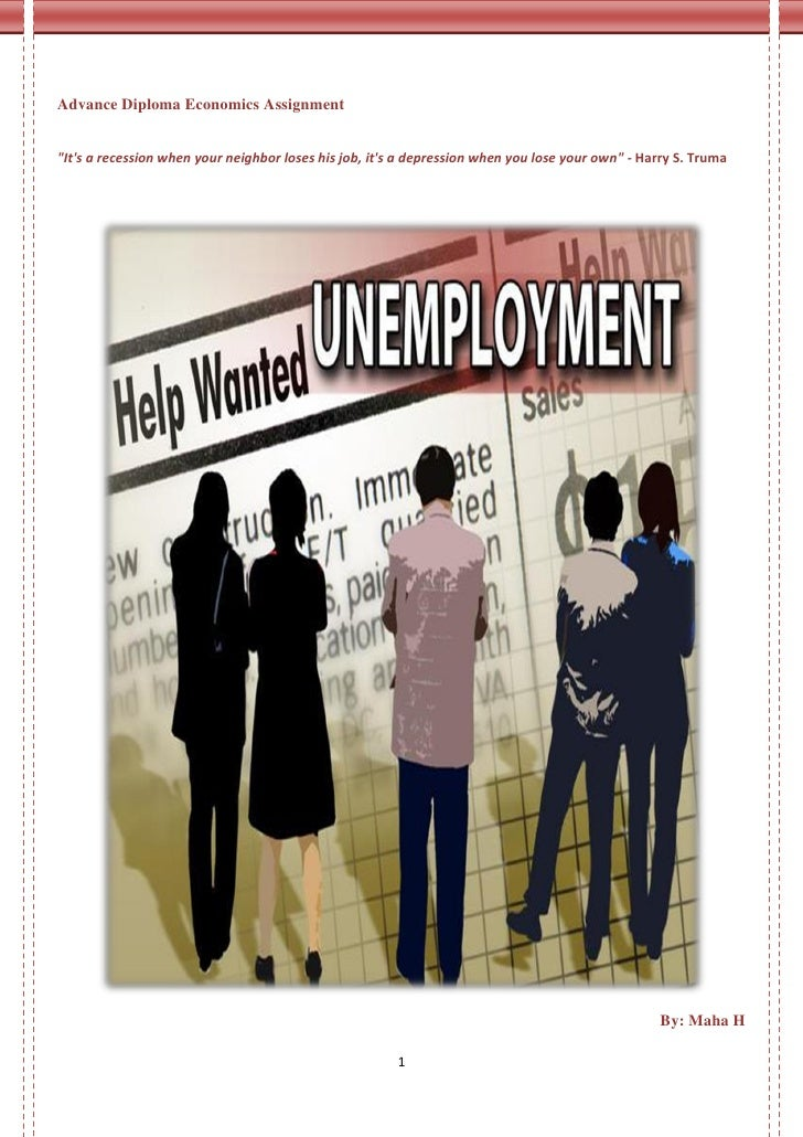 causes of unemployment research paper