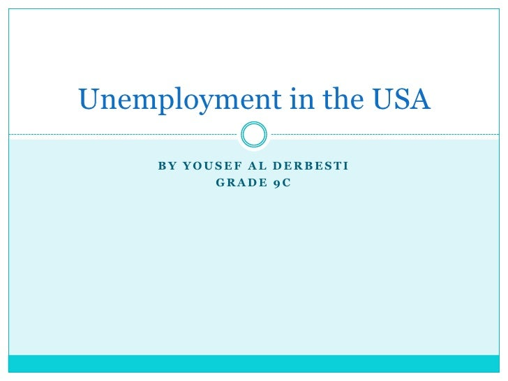 Unemployment In The Usa
