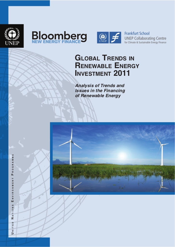 GLOBAL TRENDS IN                                       RENEWABLE ENERGY                                       INVESTMENT 2...