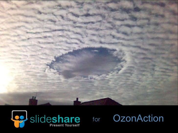 SlideShare for OzonAction