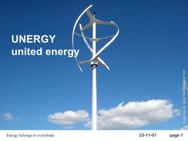 UNERGY united energy