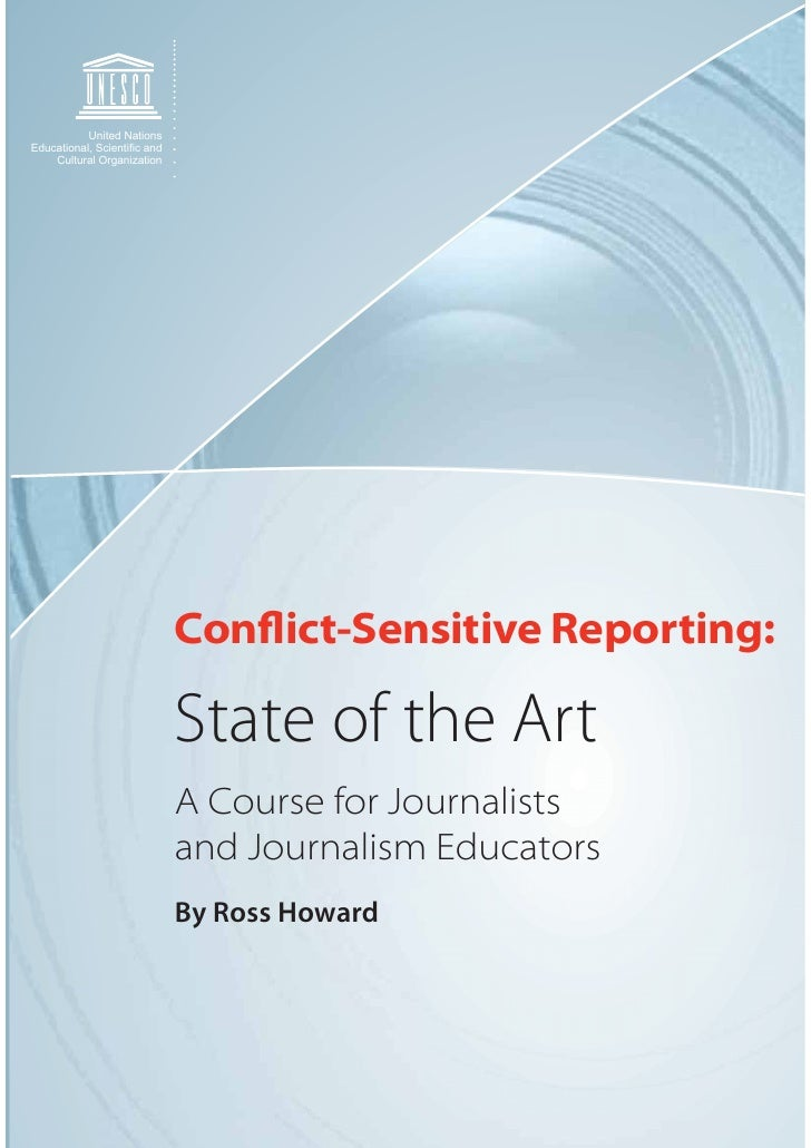 United Nations Educational, Scienti¿c and     Cultural Organization                                  Conflict-Sensitive Re...