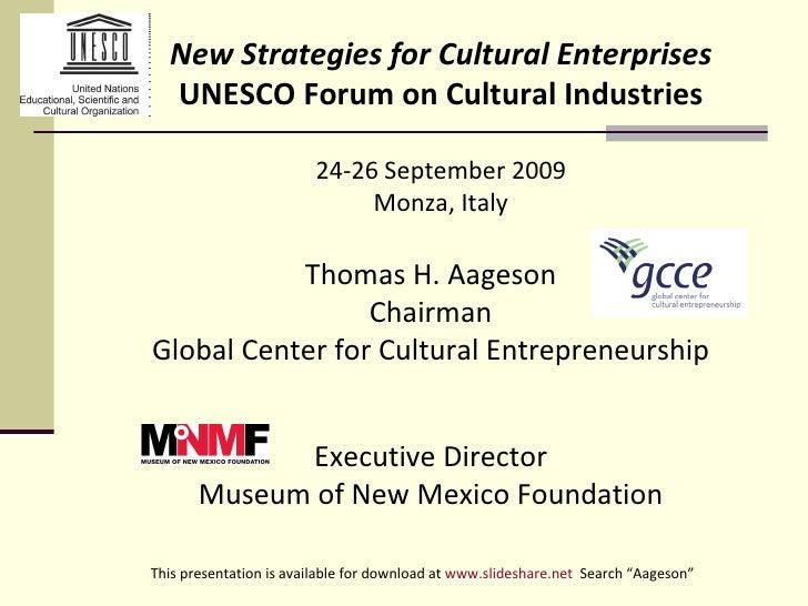 UNESCO Conf. Italy 09.2009