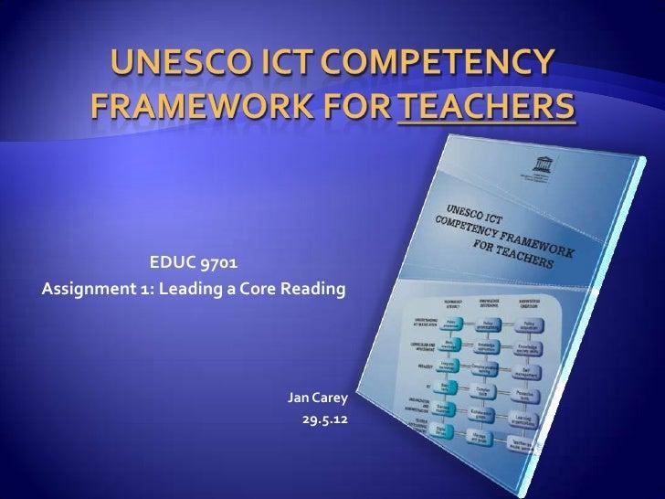 UNESCO framework