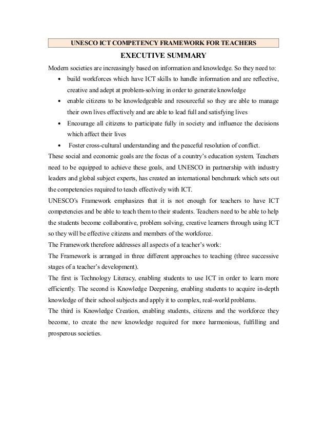 Unesco ict competency framework for teachers by pratima nayak