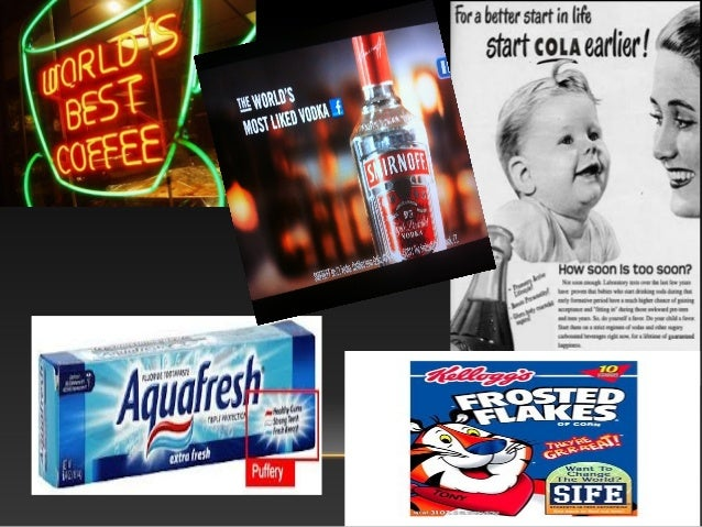 history of advertising false advertising
