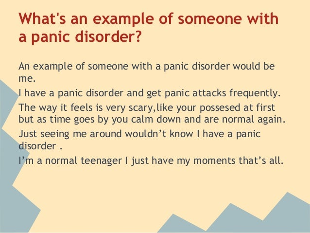 """informative outline on panic attacks A thousand words of the heart 2 thoughts on """" informative speech: types and key concepts i'm about to make a informative approach and my."""